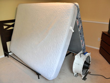 With bed bug heat treatment, mattresses are treated and not discarded